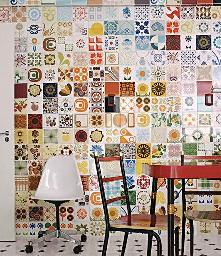 Bright tiles