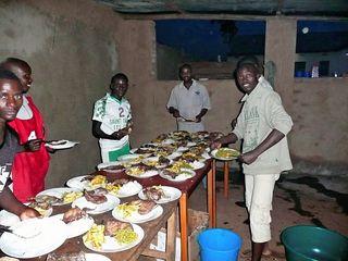 Food staging area karusi