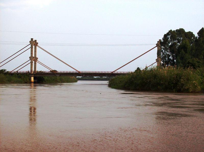 Bridge over ruzizi