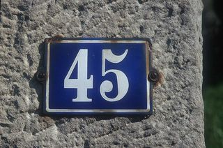 House_number_45