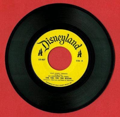Tiki room 1963 45 record