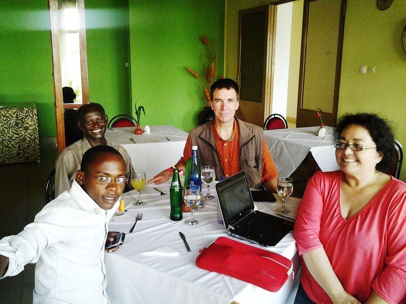 Burundi welcoming committee